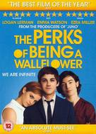 The Perks of Being a Wallflower - British Movie Cover (xs thumbnail)