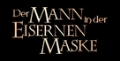 The Man In The Iron Mask - German Logo (xs thumbnail)