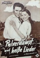 Love Me Tender - German Movie Poster (xs thumbnail)