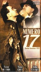 Number Seventeen - Spanish VHS cover (xs thumbnail)