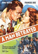A Man Betrayed - DVD movie cover (xs thumbnail)