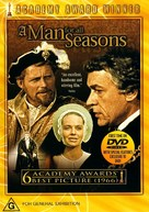A Man for All Seasons - Australian DVD movie cover (xs thumbnail)