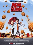 Cloudy with a Chance of Meatballs - French Movie Poster (xs thumbnail)