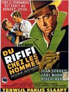 Du rififi chez les hommes - Belgian Movie Poster (xs thumbnail)
