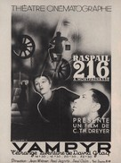 Vampyr - Der Traum des Allan Grey - French Movie Poster (xs thumbnail)