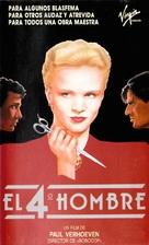De vierde man - Spanish VHS movie cover (xs thumbnail)