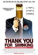 Thank You For Smoking - German Movie Poster (xs thumbnail)
