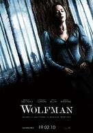 The Wolfman - Italian Movie Poster (xs thumbnail)