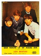 A Hard Day's Night - Spanish Movie Poster (xs thumbnail)