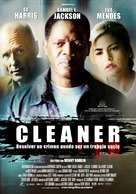 Cleaner - Spanish Movie Poster (xs thumbnail)