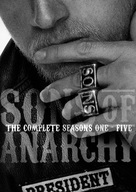 """Sons of Anarchy"" - DVD movie cover (xs thumbnail)"