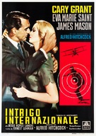 North by Northwest - Italian Movie Poster (xs thumbnail)