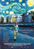 Midnight in Paris - Lithuanian Movie Poster (xs thumbnail)