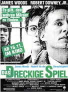 True Believer - German Movie Poster (xs thumbnail)