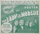 The Lady in the Morgue - Movie Poster (xs thumbnail)