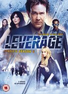 """Leverage"" - British DVD cover (xs thumbnail)"