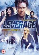 """Leverage"" - British DVD cover (xs thumbnail)"