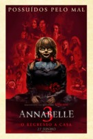 Annabelle Comes Home - Portuguese Movie Poster (xs thumbnail)