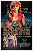 Savage Streets - Movie Poster (xs thumbnail)