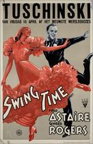 Swing Time - Dutch Movie Poster (xs thumbnail)