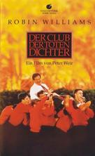 Dead Poets Society - German VHS movie cover (xs thumbnail)