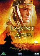 Lawrence of Arabia - Danish DVD cover (xs thumbnail)