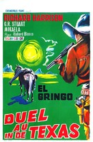 Duello nel Texas - Belgian Movie Poster (xs thumbnail)