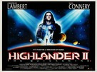 Highlander 2 - British Movie Poster (xs thumbnail)