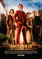 Anchorman 2: The Legend Continues - German Movie Poster (xs thumbnail)