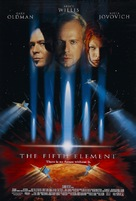 The Fifth Element - Theatrical poster (xs thumbnail)