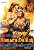 Samson and Delilah - German Movie Poster (xs thumbnail)