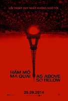 As Above, So Below - Vietnamese Movie Poster (xs thumbnail)