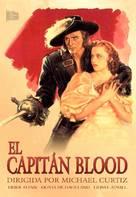 Captain Blood - Spanish DVD movie cover (xs thumbnail)