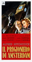 Foreign Correspondent - Italian Theatrical poster (xs thumbnail)