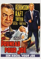 A Bullet for Joey - Belgian Movie Poster (xs thumbnail)