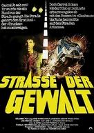 White Line Fever - German Movie Poster (xs thumbnail)