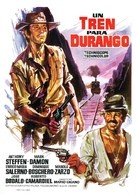 Un treno per Durango - Spanish Movie Poster (xs thumbnail)