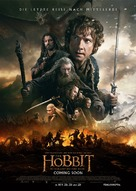 The Hobbit: The Battle of the Five Armies - German Movie Poster (xs thumbnail)