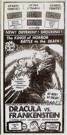 Dracula Vs. Frankenstein - poster (xs thumbnail)