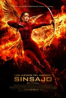 The Hunger Games: Mockingjay - Part 2 - Argentinian Movie Poster (xs thumbnail)