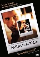 Memento - DVD movie cover (xs thumbnail)