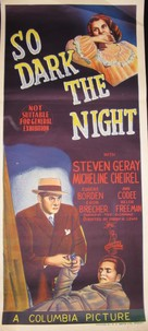 So Dark the Night - Australian Movie Poster (xs thumbnail)