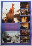1492: Conquest of Paradise - Swedish Movie Poster (xs thumbnail)