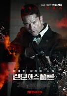 London Has Fallen - South Korean Movie Poster (xs thumbnail)