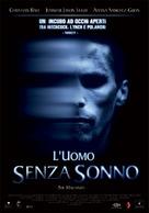 The Machinist - Italian Movie Poster (xs thumbnail)