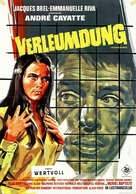 Les risques du métier - German Movie Poster (xs thumbnail)