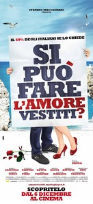 Si puo fare l'amore vestiti? - Italian Movie Poster (xs thumbnail)