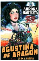Agustina de Aragón - Spanish Movie Poster (xs thumbnail)