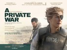 A Private War - British Movie Poster (xs thumbnail)