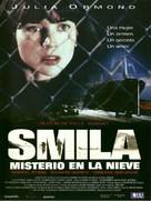 Smilla's Sense of Snow - Spanish Movie Poster (xs thumbnail)